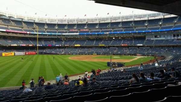 Yankee Stadium, secção: 131, fila: 23, lugar: 16