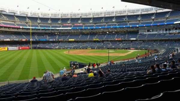 Yankee Stadium, secção: 131, fila: 23, lugar: 19