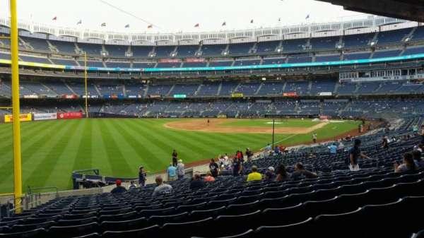 Yankee Stadium, secção: 131, fila: 23, lugar: 21