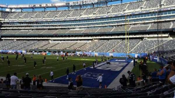 MetLife Stadium, secção: 133, fila: 13, lugar: 5