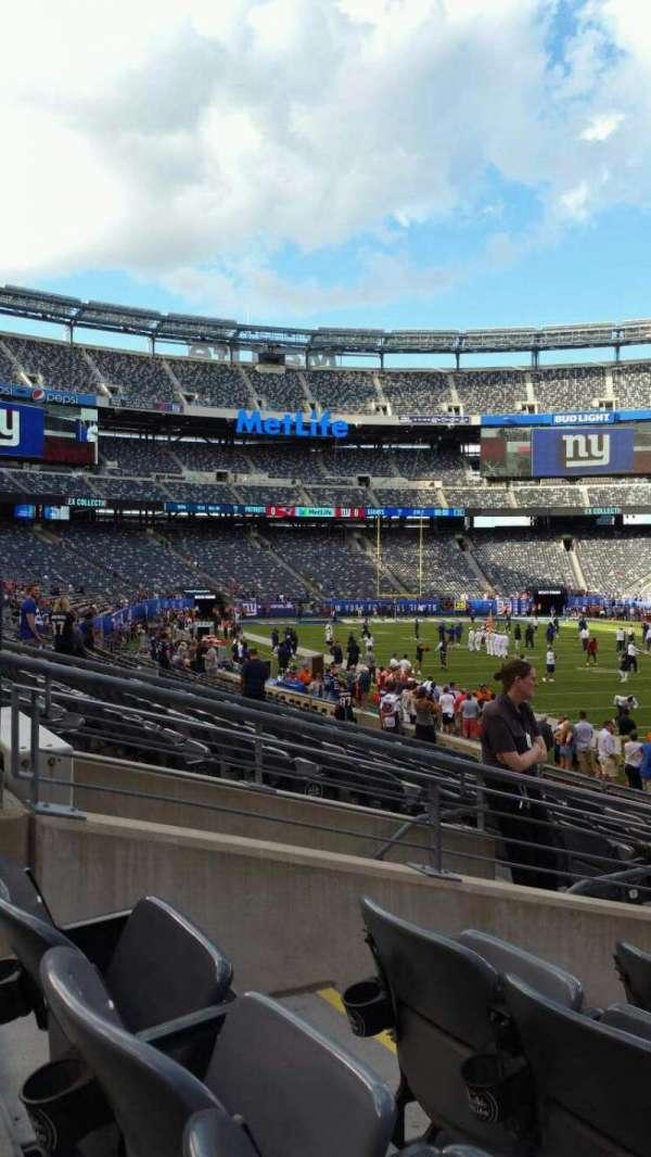 MetLife Stadium, secção: 133, fila: 13, lugar: 10