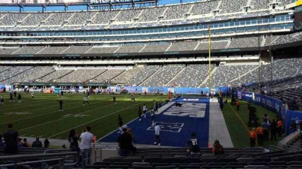 MetLife Stadium, secção: 133, fila: 13, lugar: 14