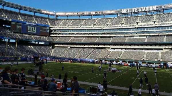MetLife Stadium, secção: 137, fila: 15, lugar: 20