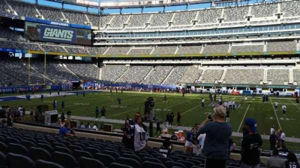 MetLife Stadium, secção: 139, fila: 18, lugar: 1
