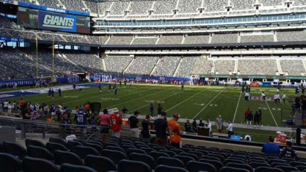 MetLife Stadium, secção: 139, fila: 18, lugar: 22