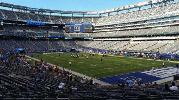MetLife Stadium, secção: 131, fila: 27, lugar: 15