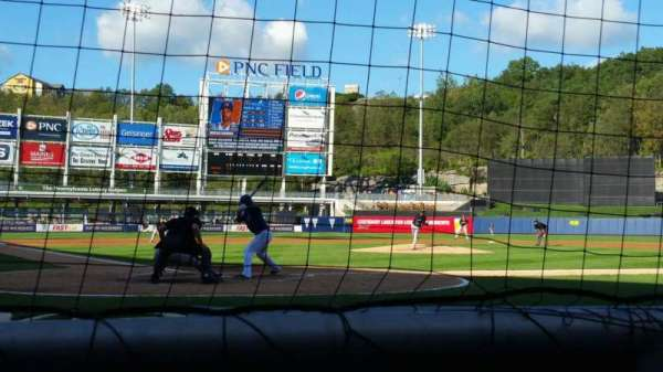 PNC Field, secção: 20, fila: 1, lugar: 5
