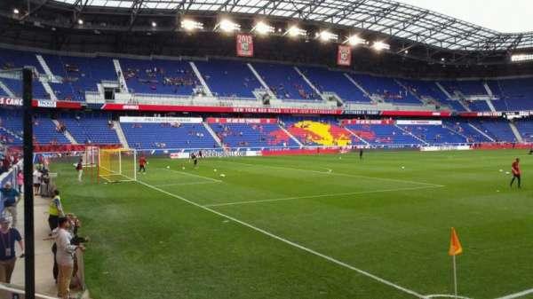 Red Bull Arena (New Jersey), secção: 114, fila: 4, lugar: 13
