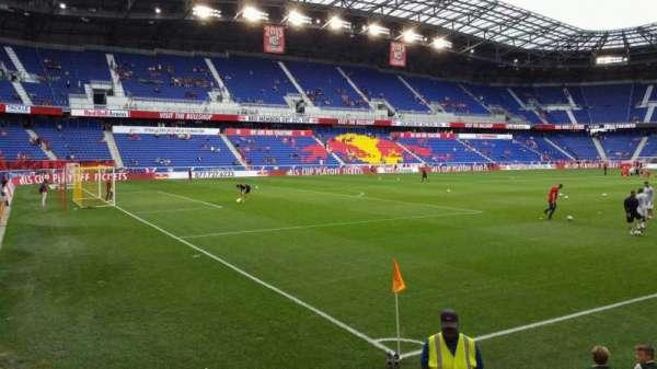 Red Bull Arena (New Jersey), secção: 114, fila: 4, lugar: 9
