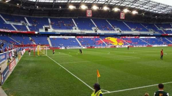 Red Bull Arena (New Jersey), secção: 114, fila: 4, lugar: 6