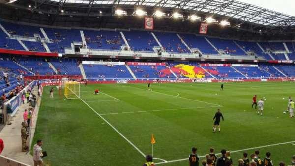 Red Bull Arena (New Jersey), secção: 114, fila: 8, lugar: 6