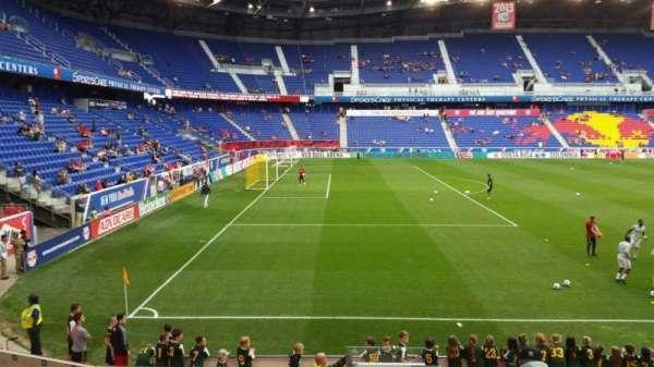 Red Bull Arena (New Jersey), secção: 113, fila: 11, lugar: 1