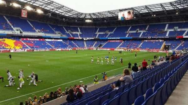Red Bull Arena (New Jersey), secção: 112, fila: 9, lugar: 29