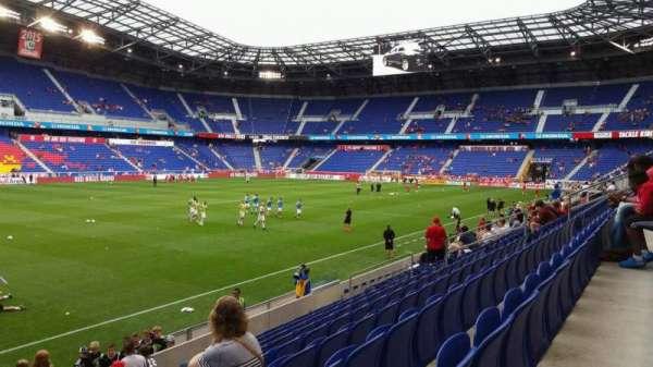 Red Bull Arena (New Jersey), secção: 112, fila: 9, lugar: 23