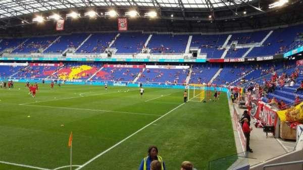 Red Bull Arena (New Jersey), secção: 105, fila: 5, lugar: 7