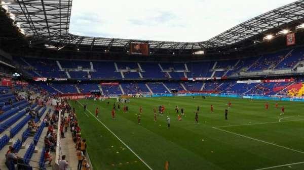 Red Bull Arena (New Jersey), secção: 104, fila: 12, lugar: 11