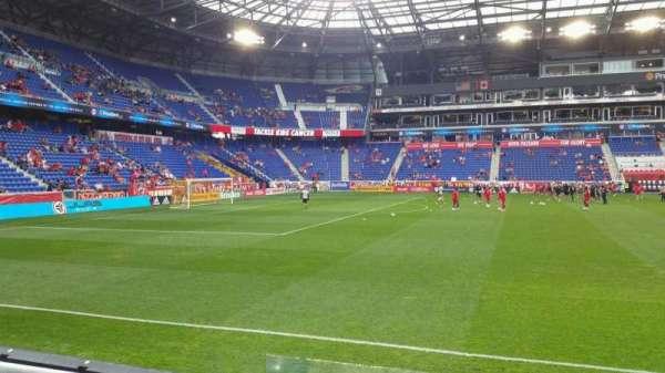 Red Bull Arena (New Jersey), secção: 126, fila: 4, lugar: 35
