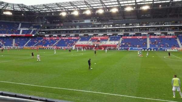 Red Bull Arena (New Jersey), secção: 124, fila: 7, lugar: 35