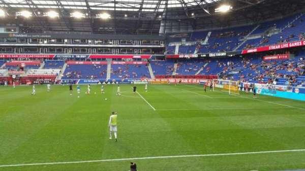 Red Bull Arena (New Jersey), secção: 124, fila: 7, lugar: 26