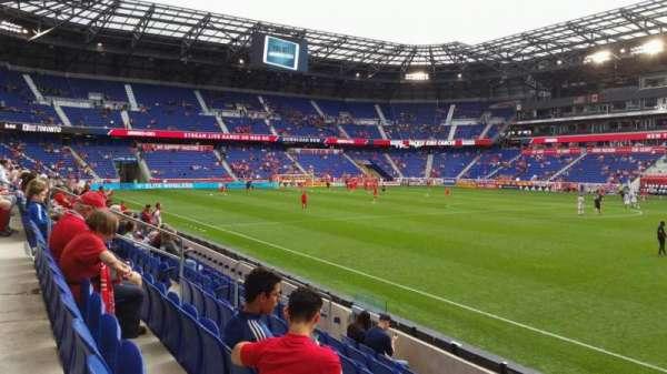 Red Bull Arena (New Jersey), secção: 124, fila: 7, lugar: 21