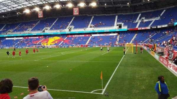 Red Bull Arena (New Jersey), secção: 105, fila: 5, lugar: 14