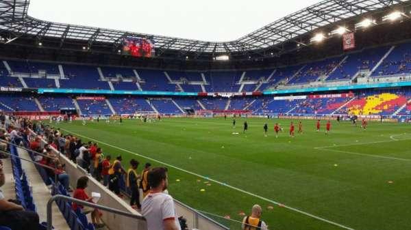 Red Bull Arena (New Jersey), secção: 105, fila: 5, lugar: 10