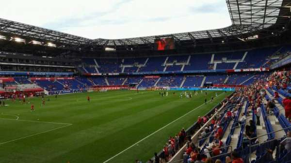 Red Bull Arena (New Jersey), secção: 130, fila: 14, lugar: 21