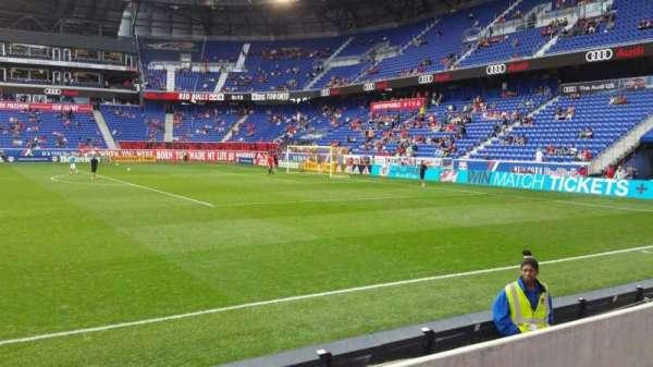 Red Bull Arena (New Jersey), secção: 124, fila: 3, lugar: 35