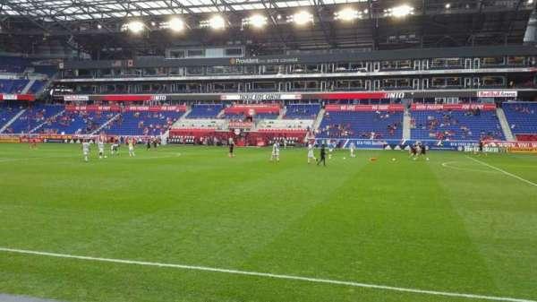 Red Bull Arena (New Jersey), secção: 124, fila: 3, lugar: 30
