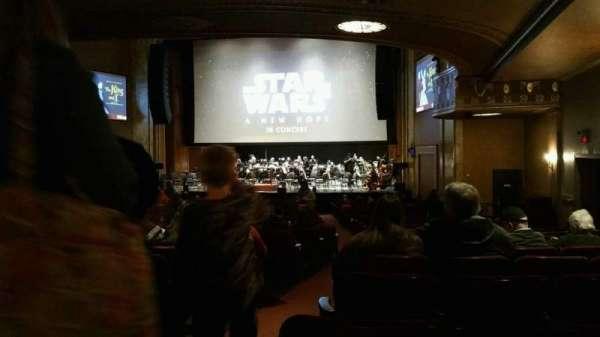 State Theatre New Jersey, secção: Orchestra, fila: AA, lugar: 2
