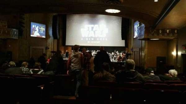 State Theatre New Jersey, secção: Orchestra, fila: AA, lugar: 4