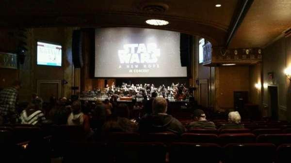 State Theatre New Jersey, secção: Orchestra, fila: AA, lugar: 6
