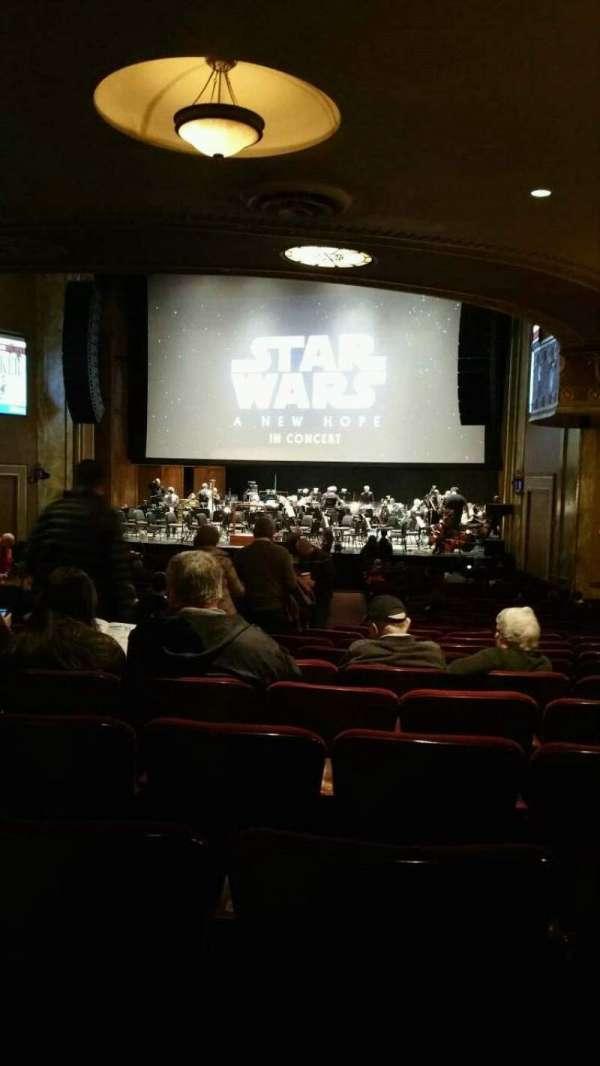 State Theatre New Jersey, secção: Orchestra, fila: AA, lugar: 10