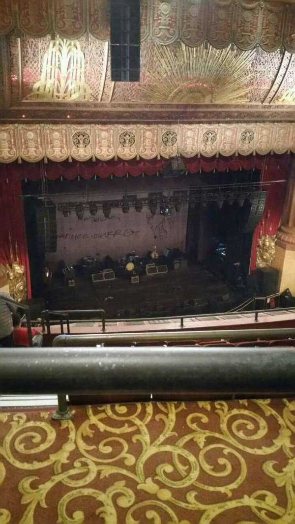Beacon Theatre, secção: Upper Balcony 1, fila: F, lugar: 23