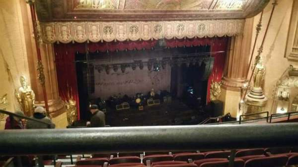 Beacon Theatre, secção: Upper Balcony 1, fila: F, lugar: 21