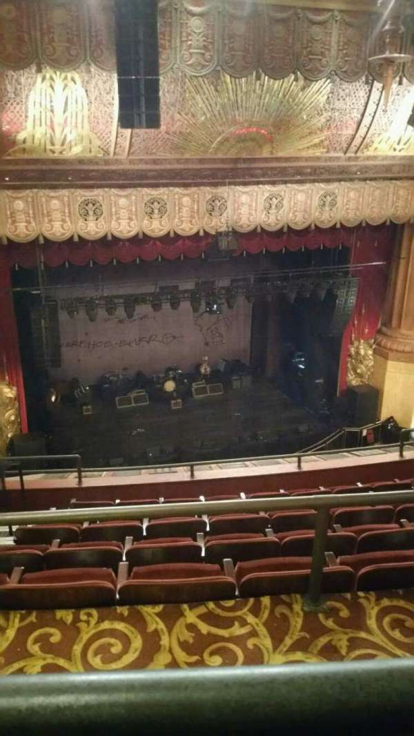 Beacon Theatre, secção: Upper Balcony 1, fila: F, lugar: 19