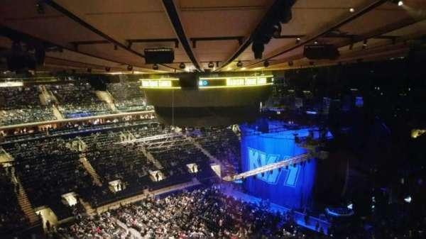 Madison Square Garden, secção: 311, fila: 1, lugar: 5