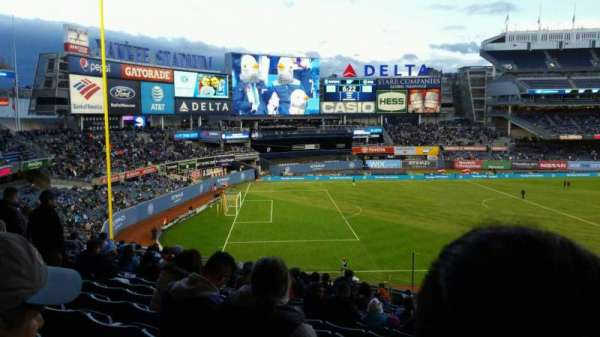 Yankee Stadium, secção: 228, fila: 19, lugar: 4