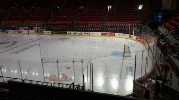 Floyd L. Maines Veterans Memorial Arena, secção: 12, fila: G, lugar: 1