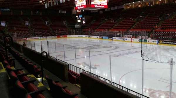 Floyd L. Maines Veterans Memorial Arena, secção: 12, fila: C, lugar: 7