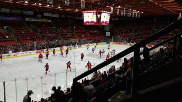 Floyd L. Maines Veterans Memorial Arena, secção: 5, fila: H, lugar: 1
