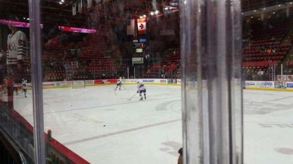 Floyd L. Maines Veterans Memorial Arena, secção: 14, fila: BB, lugar: 7
