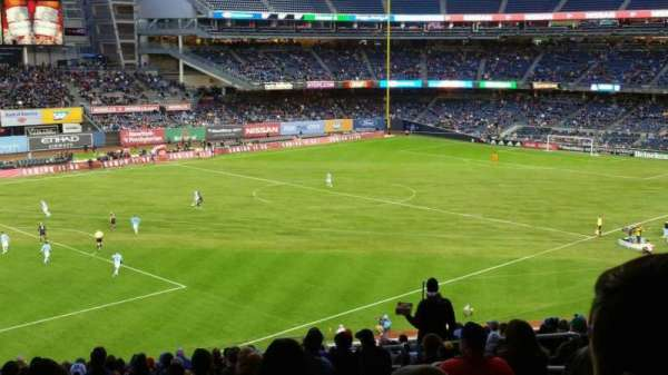 Yankee Stadium, secção: 230, fila: 23, lugar: 7