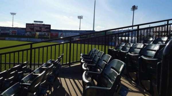 Clipper Magazine Stadium, secção: 2, fila: F, lugar: 1