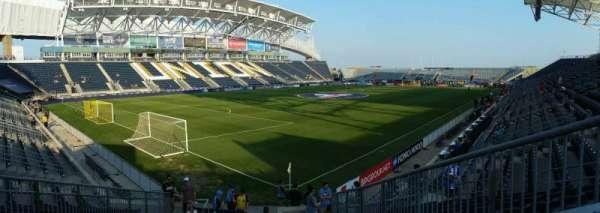 Talen Energy Stadium, secção: 113, fila: P, lugar: 17