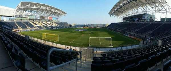 Talen Energy Stadium, secção: 115, fila: R, lugar: 20