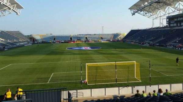 Talen Energy Stadium, secção: 117, fila: Q, lugar: 24
