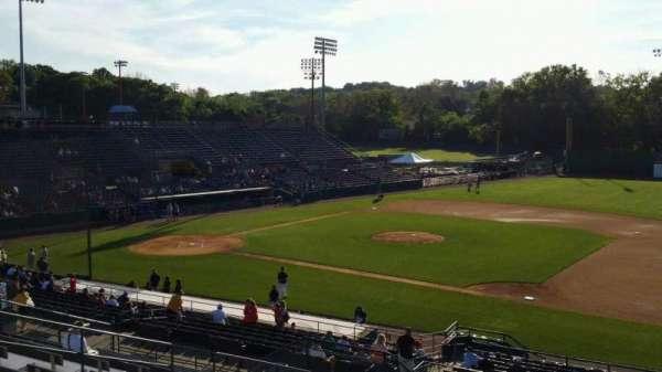 New Britain Stadium, secção: 202, fila: P, lugar: 11
