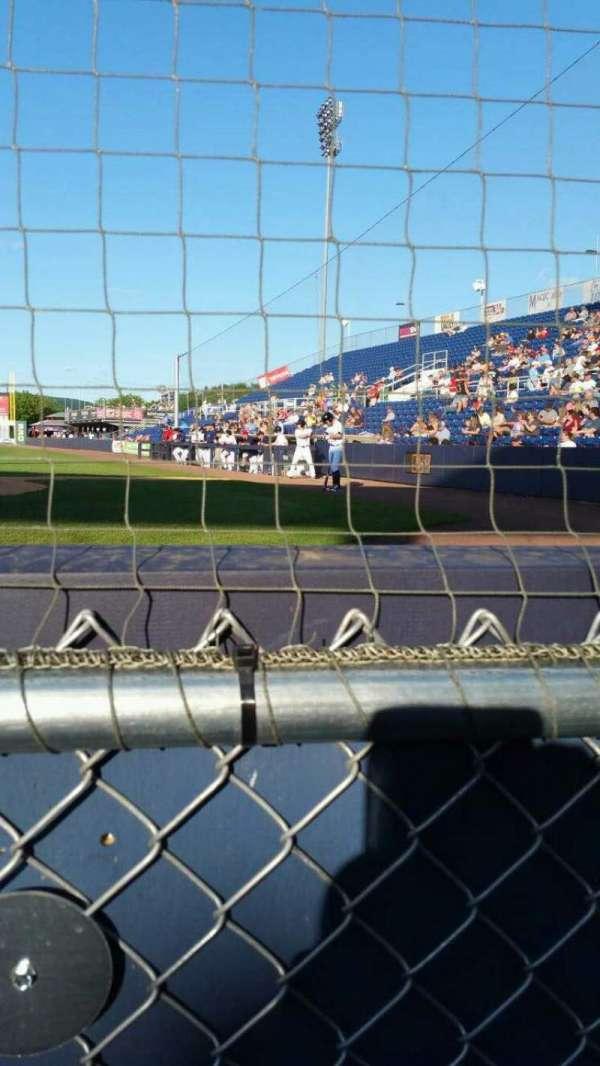 NYSEG Stadium, secção: 3, fila: A, lugar: 8