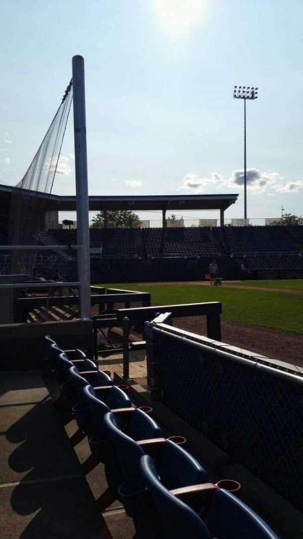 NYSEG Stadium, secção: 14, fila: B, lugar: 10